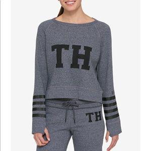 Tommy Hilfiger Sport Grey Sweatshirt Logo TH